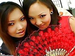 Asian Ass Licking Lesbian