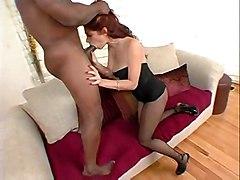 stockings cumshot hardcore interracial milf blowjob fingering redhead bigass pussyfucking