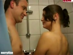 amateur shower blowjob piss naked german euro blowjob tattoo