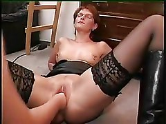Fisting Lesbian Piercing Shaved Pussy