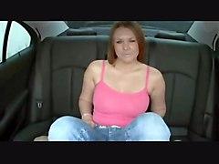 hardcore creampie milf blowjob brunette pussyfucking car