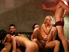 Amateur Group Sex Teen blowjob fucking