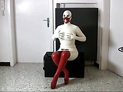 Amateur Latex Masturbation