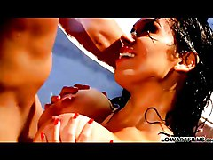 Latina Black-haired Blowjob Brunette Caucasian Couple Cum Shot High Heels Latin Masturbation Oral Sex Pornstar Stockings Titfuck Toilet Vaginal Sex Bridgette B Chris Johnson Sienna West