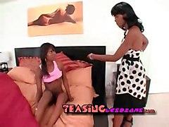 teen lesbian milf ebony toys dildo vibrator girl-on-girl pussy-licking mature horny hot lick anal