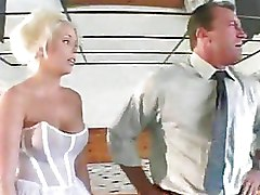 Blondes Brides anal fucking big tits