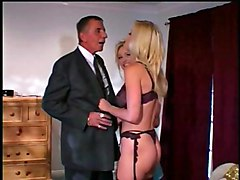 Anal Group Blonde Anal Sex Blonde Blowjob Caucasian Cum Shot Licking Vagina Oral Sex Rimming Stockings Threesome Vaginal Sex Young & Old