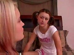 lesbian teen fingering pussylicking asslicking socks pigtail