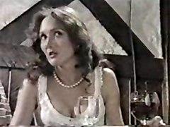 Vintage Brunette Caucasian Couple Handjob Masturbation Vintage