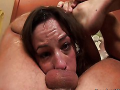 Blowjob Cumshot Blowjob Brunette Couple Cum Shot Deepthroat Oral Sex Amber Rayne