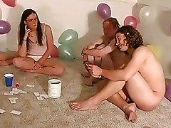 Amateur Party Sex Games blowjob fucking