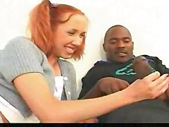 anal cumshot facial teen interracial blowjob redhead pussyfucking pigtail