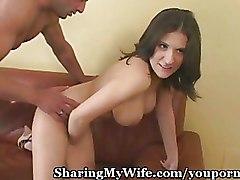 Cuckold Milf big tits brunette