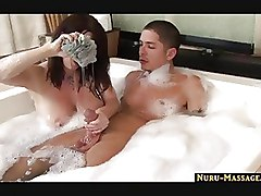 Big Tits Handjobs Massage bigtits blowjob busty cumshot handjob jacuzzi titfuck