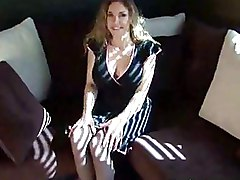 Milf Fucked In Her Dress And Stockings Twice