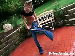 outdoor dancing very hot teen kasia