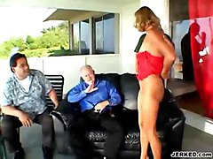 anal cumshot facial blonde blowjob doggystyle wife sofa asstomouth ontop pussyfucking cuminmouth olderguy