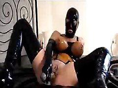 toys dildo masturbation squirt latex rubber slut horny