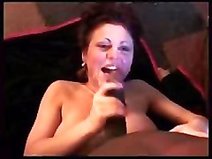 BBW Interracial bathroom facials