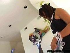 interracial latina maid blowjob cumshot hardcore pussyfucking