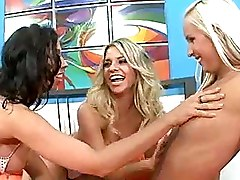 Lesbian Moms and Teens Threesome