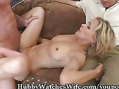 Blondes Cuckold thongs wife