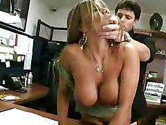 Big Tits Hardcore Office