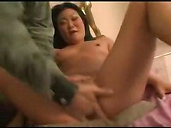 Wild & Crazy Asian Squirting Asian Black-haired Couple Masturbation Spectacular Squirting Vaginal Masturbation