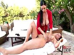 Big Tits Lesbian Big Tits Black-haired Caucasian Glamour Lesbian Pornstar Aria Giovanni Jelena Jensen