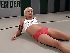 Doggy Style Strapon Wrestling