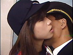 Asian Japanese Asian Black-haired Blowjob Couple Cum Shot Hairy Japanese Masturbation Oral Sex Uniform Vaginal Masturbation Vaginal Sex