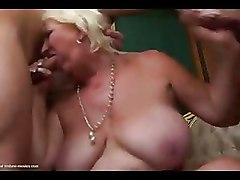 Blondes Gang Bang Moms and Boys