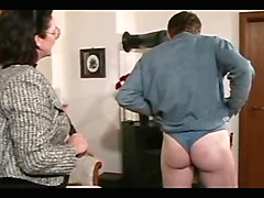 Femdom Grannies Spanking