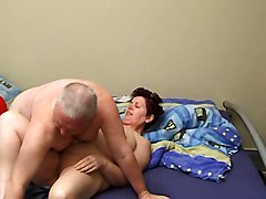 Granny And Grandpa Making Out