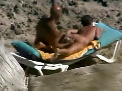 Beach Fingering Voyeur