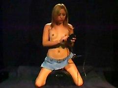 Teens Masturbation Blonde Blonde Caucasian Masturbation Piercings Small Tits Solo Girl Teen Toys Vaginal Masturbation