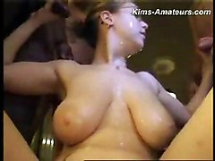 Big Tits Teens Amateur Cumshot Group Gangbang Blonde Amateur Big Tits Blonde Bukkake Caucasian Cum Shot Gangbang Teen