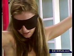teen brunette amateur solo bdsm bondage sybian