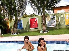 Big Titties In Pool