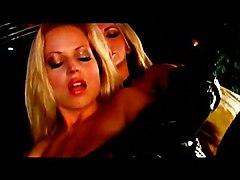 Lesbian Brunette Caucasian Glamour High Heels Kissing Lesbian Licking Vagina Masturbation Oral Sex Pantyhose Shaved Toys Vaginal Masturbation