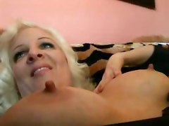 lingerie milf panties blonde rubbing toys blowjob pussylicking riding doggystyle big tits hardcore pornstar cumshot