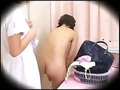 lesbian seduction japanese during massage oil sex