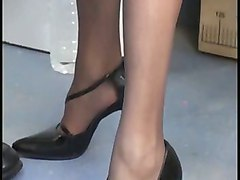 French Matures Stockings