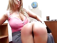 BDSM Lezdom Whipping