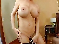 Busty Mom Deauxma Squirts From Anal