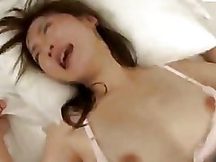 Asian Hairy bedroom sex lingerie small tits