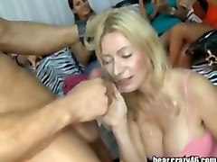 party cfnm amateur group stripper blowjob