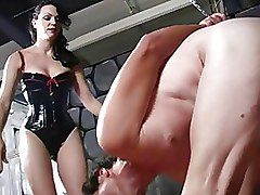BDSM Femdom balls dominatrix extreme slave