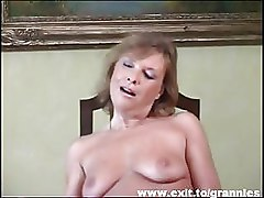 Big Tits Granny Striptease