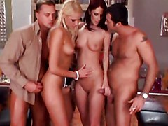 Anal Group Double Penetration Anal Sex Blowjob Caucasian Cum Shot Double Penetration Group Sex High Heels Licking Vagina Oral Sex Vaginal Sex Gabriela Marsha Lord